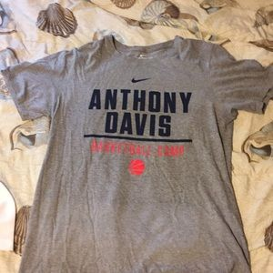 Nike Anthony Davis basketball camp Tee Size small